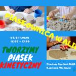 Sensoplastyka - Piasek Kinetyczny